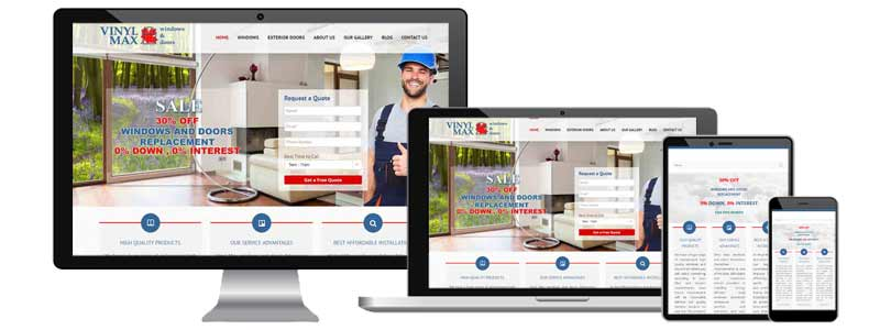 Vinyl Max Window and Doors Webdesign Toronto